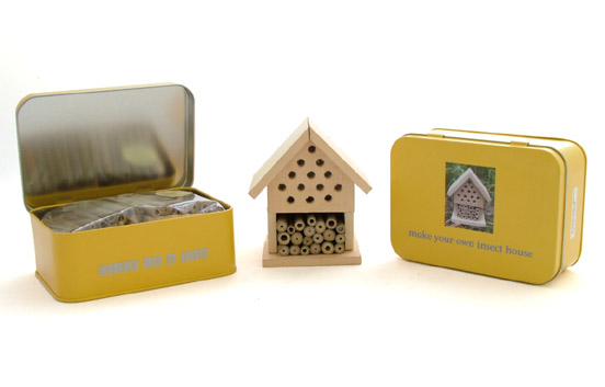 Apples And Pears Make Your Own Insect House Gift In A Tin