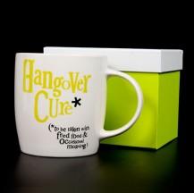 Hangover cure mug