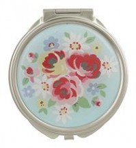 cath kidston compact mirror daisy rose blue