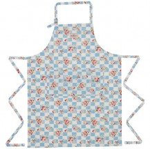 cath kidston daisy check wipe clean apron