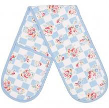 cath kidston daisy rose check oven glove