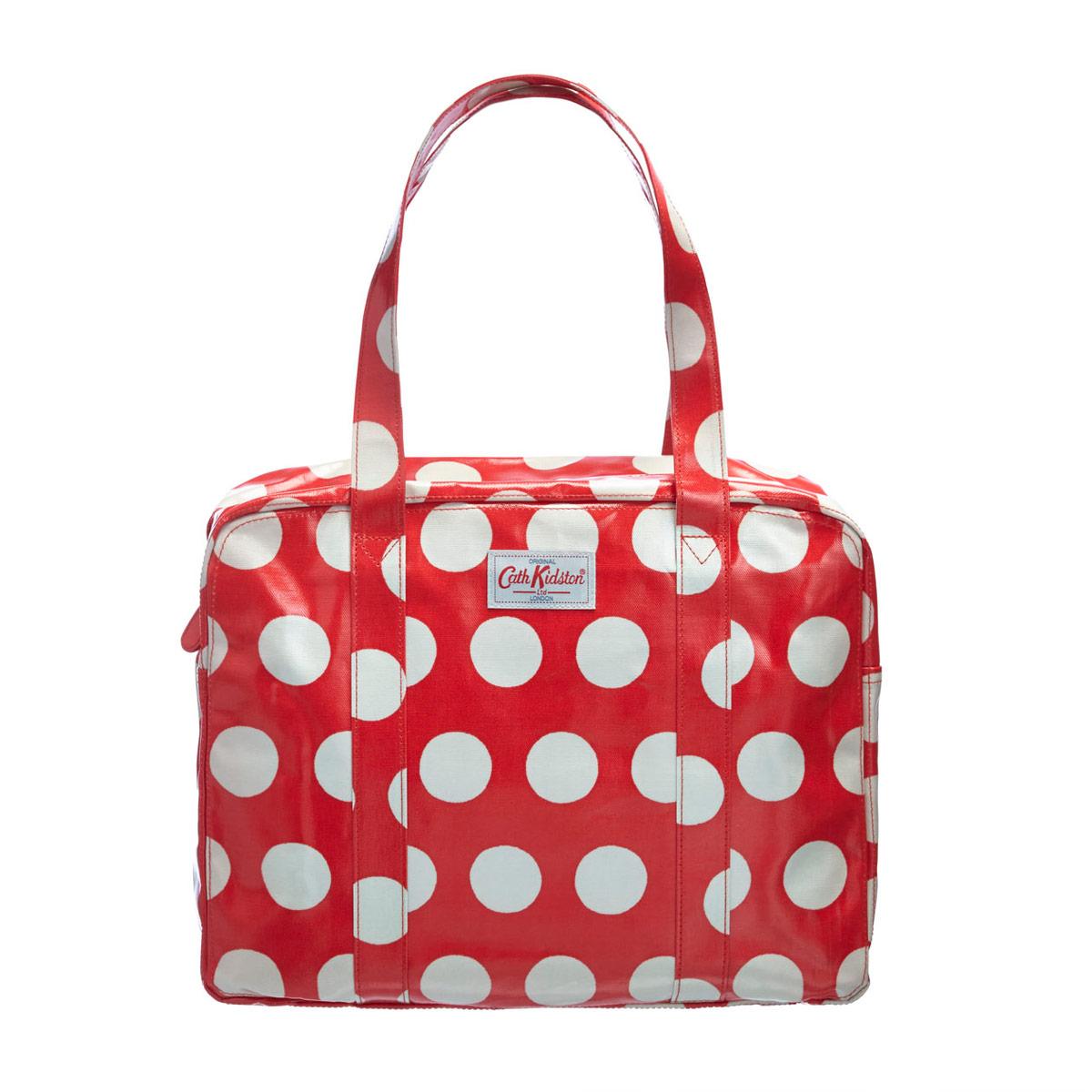 cath kidston big spot large zip bag royal gifts