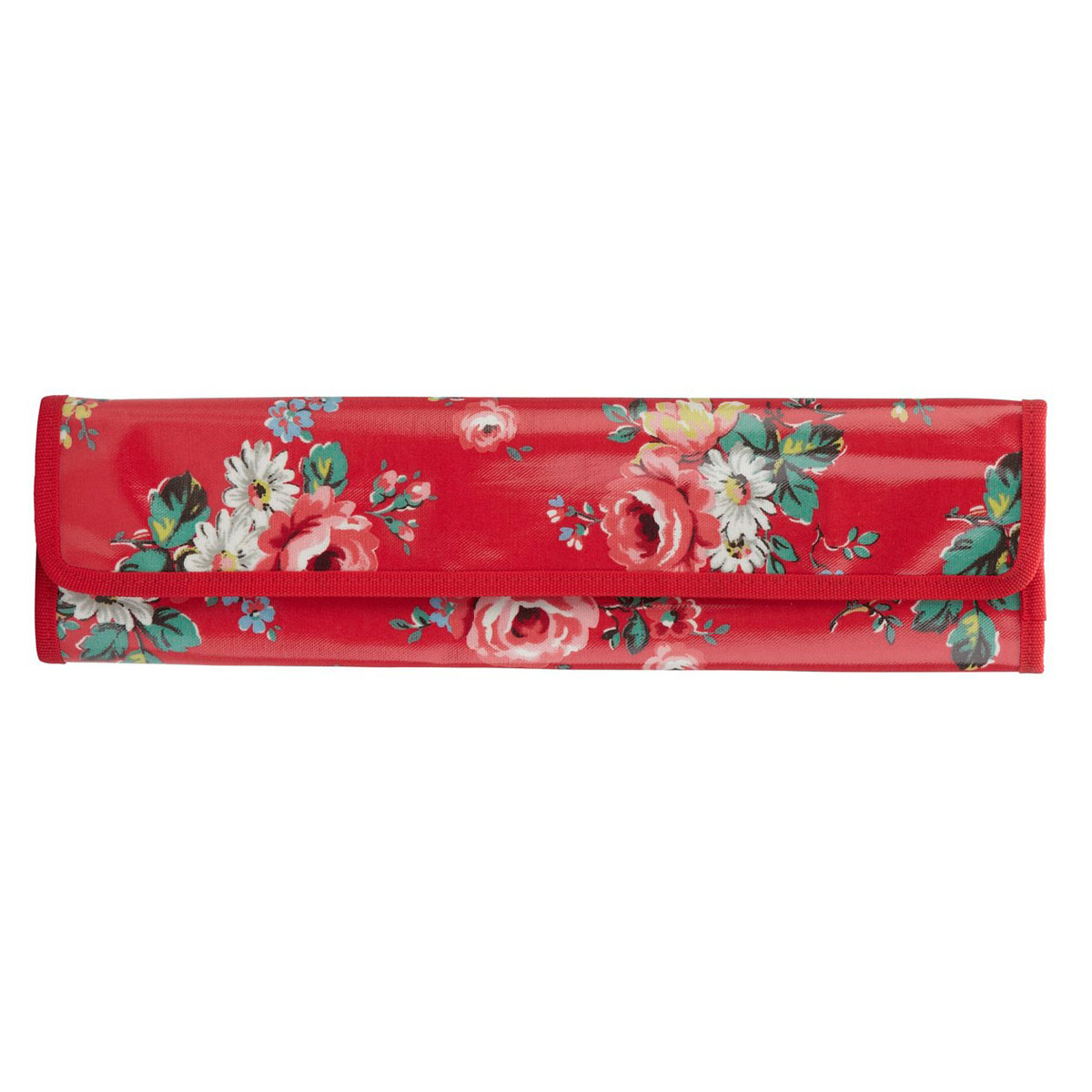 Cath Kidston Knitting Needle Case Kentish Rose Red   Penny Royal Gifts