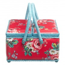 kentish rose sewing basket