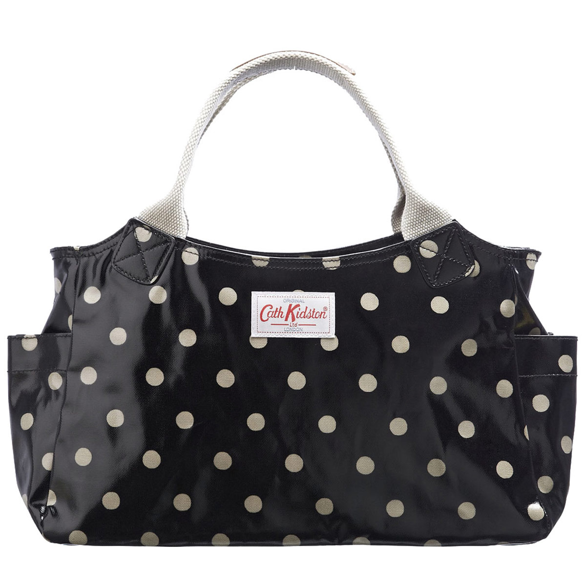 cath kidston charcoal spot bag images