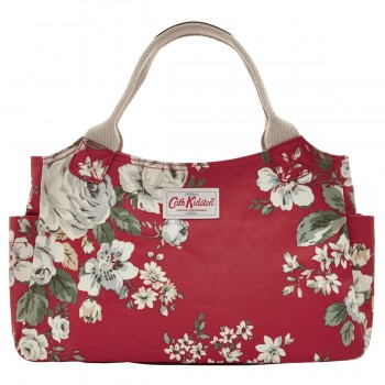 cath kidston day bag hampstead rose red
