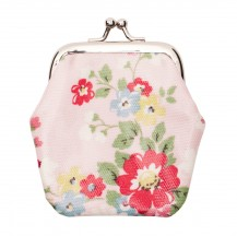 bright daisies clasp purse