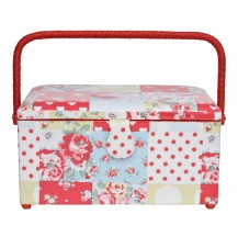 cath kidston Patchwork Large Sewing Box