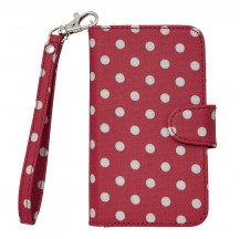 cath kidston little spot samsung galaxy case with card holder