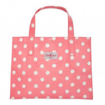 cath kidston carryall button spot pink