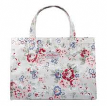cath kidston open carryall large spray cream