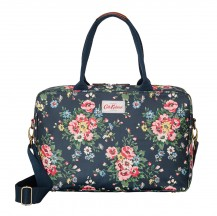 cath kidston Folk Flowers 3 Part Business Bag charcoal 443395