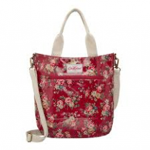 cath kidston cross body bag kingswood rose red