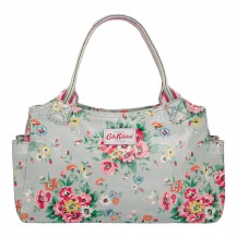 cath kidston folk flowers day bag grey 443340