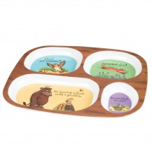 gruffalo feasting divided plate