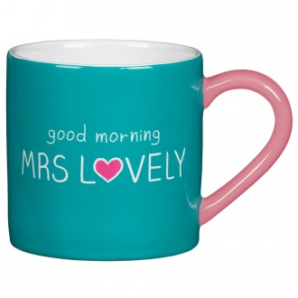 Happy Jackson Coffee Mug Mrs Lovely