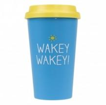 Happy Jackson Travel Mug Wakey Wakey