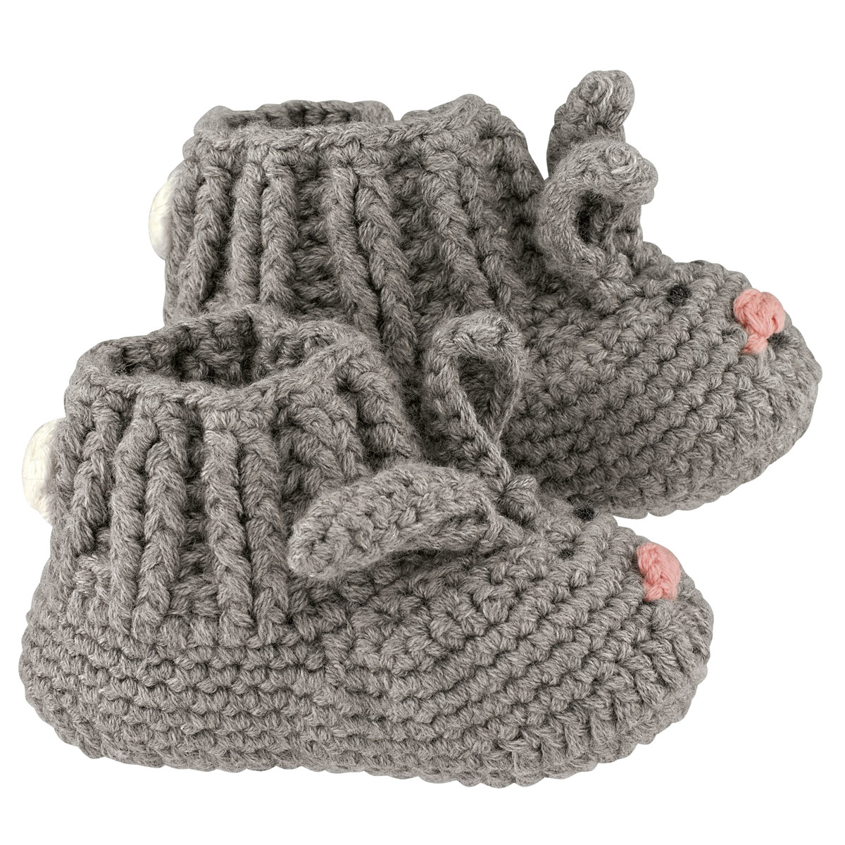 Cath Kidston Baby Knitted Bunny Booties   Penny Royal Gifts