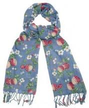 cath kidston shawl wild strawberry print