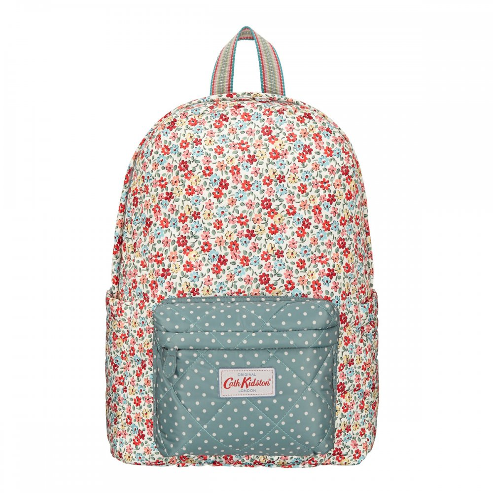 cath kidston garden ditsy quilted backpack u2013 penny royal gifts