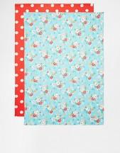 cath kidston clifton rose tea towels