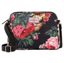 Cath Kidston Bloomsbury Bouquet Mini Busy Bag Charcoal 516624