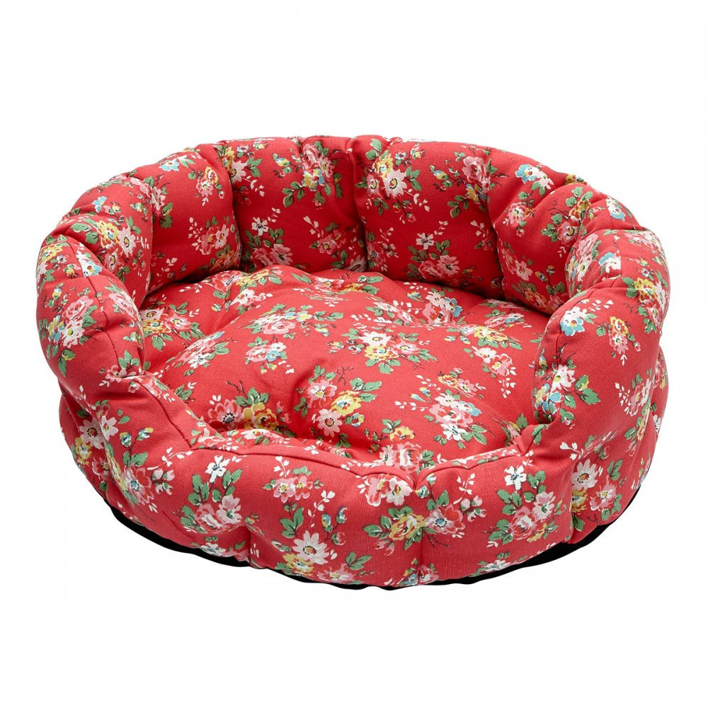 Cath Kidston Kingswood Rose Medium Dog Bed Penny Royal Gifts