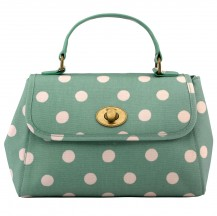 559140 cath kidston Button Spot Mini Turnlock Handbag