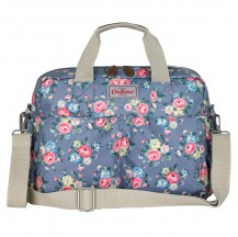 564076 Latimer Rose Double Pocket Nappy Bag blue