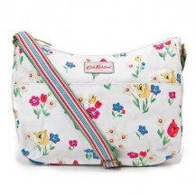 cath kidston all day bag paradise fields chalk