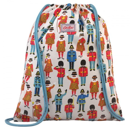 Cath Kidston Guards and Friends Kids Drawstring Bag