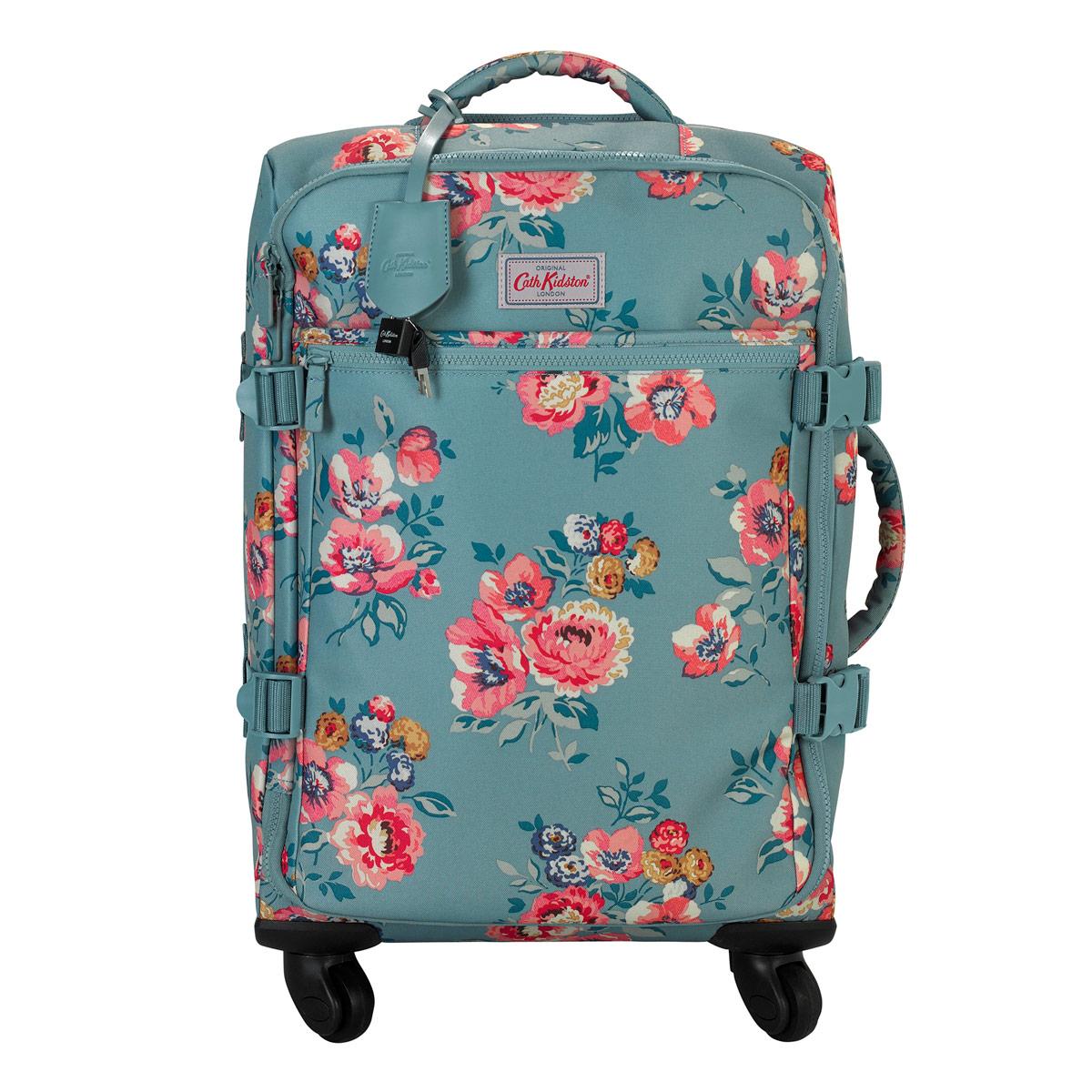 cath kidston windflower bunch four wheel cabin bag u2013 penny royal gifts